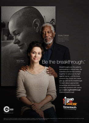 Morgan Freeman Joins Stand Up To Cancer and Genentech in New PSA