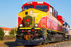 The sixth annual Florida East Coast Railway Christmas Train set to roll down Florida's east coast on Saturday, December 12.
