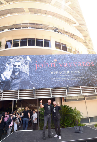 Designer John Varvatos and Legendary Music Icon Ringo Starr Announce Fall 2014 Ad Campaign and Charitable Initiative (PRNewsFoto/John Varvatos)