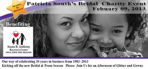 Patricia South Bridal to Host Fashion Benefit for the Susan B. Anthony Center. (PRNewsFoto/Patricia South's  ...