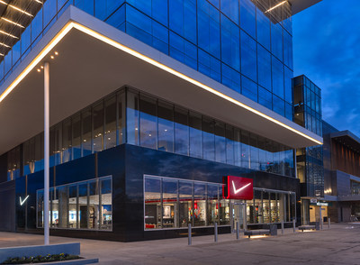 The Verizon Destination Store opened in Houston, Texas today at BLVD Place shopping center. Verizon is taking the retail experience to the next level with a new retail approach focusing on enhancing customers' mobile lifestyles. - (C) John W. Davis, ASMP, AIAP - DVDesign Group, Inc.