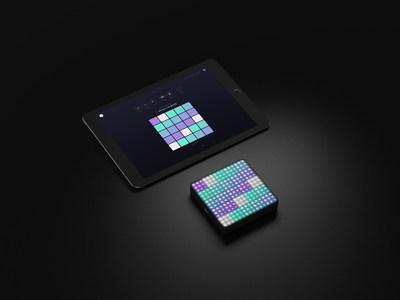 The Lightpad Block and NOISE on iPad