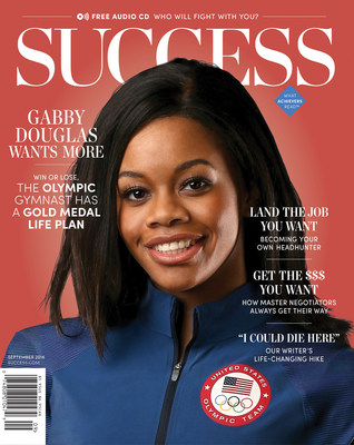 With two Gold medals adorning her neck, Douglas, the cover story of SUCCESS Magazine's September issue, shares why she hopes to make history again with another gold medal in the 2016 games.