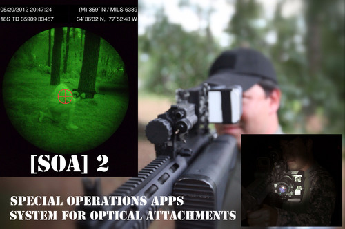 [SOA]2 Special Operations Apps, System for Optical Attachments SOFIC 2012.  (PRNewsFoto/Special Operations Apps)