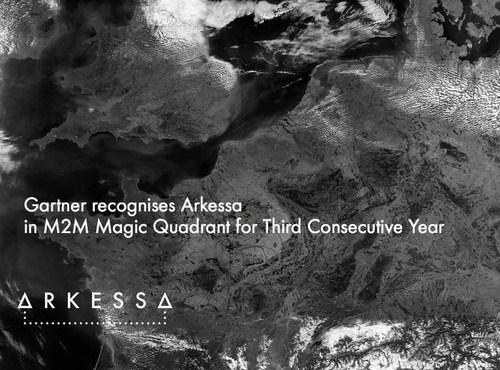Gartner recognises Arkessa in M2M Magic Quadrant for Third Consecutive Year (PRNewsFoto/Arkessa)