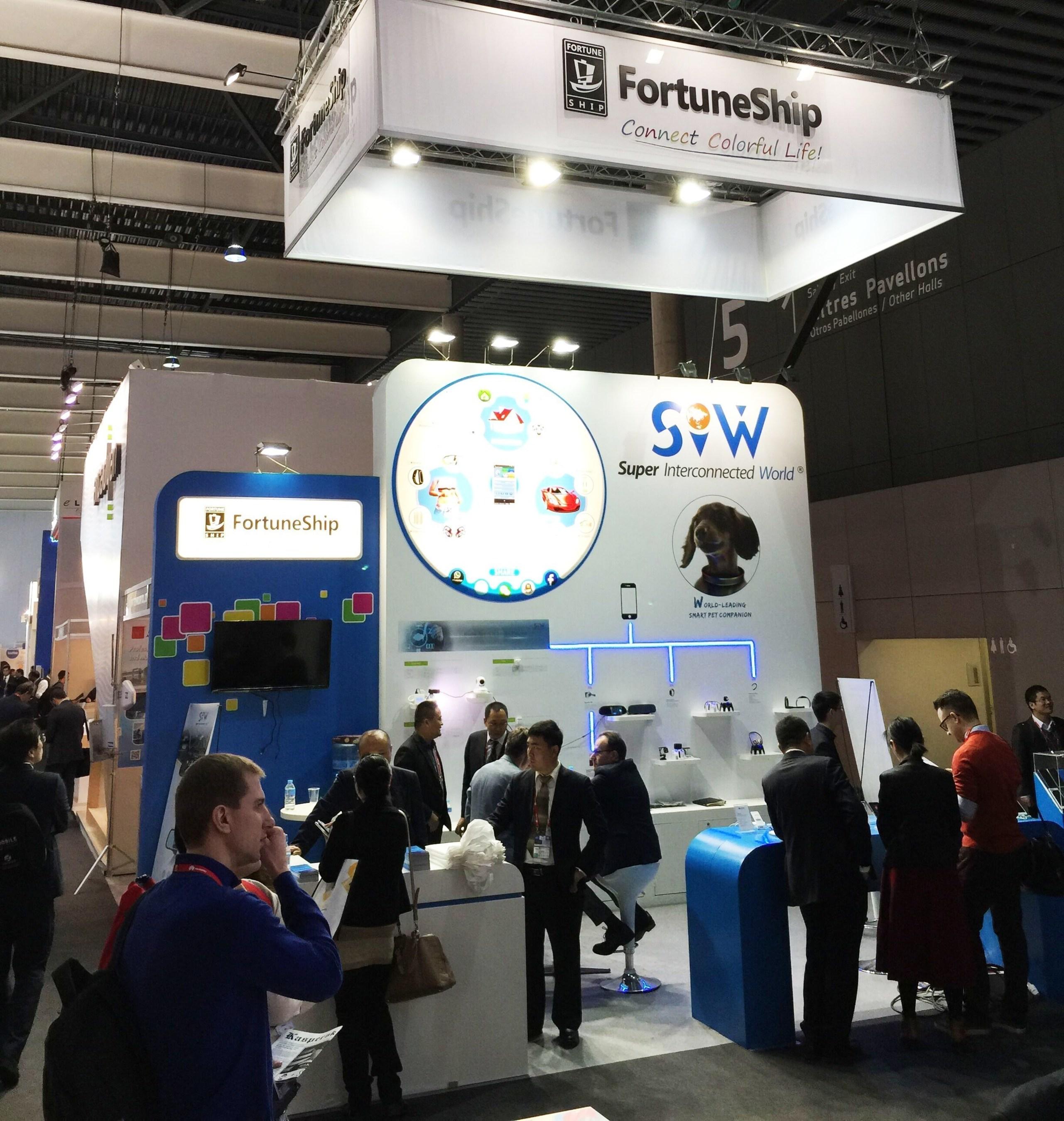 FortuneShip, fabricant chinois de matériel pour terminaux mobiles, attire l'attention lors du 2016