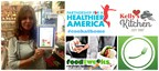 Kelly's Kitchen, foodtweeks, and the Partnership for a Healthier America's #cookathome TwitterChat (PRNewsFoto/foodtweeks)