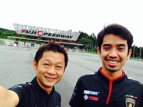 Catch Team FXPRIMUS Aylezo in action at the Lamborghini Blancpain Super Trofeo 2014 Asia Season Race 3 at Fuji,  ...