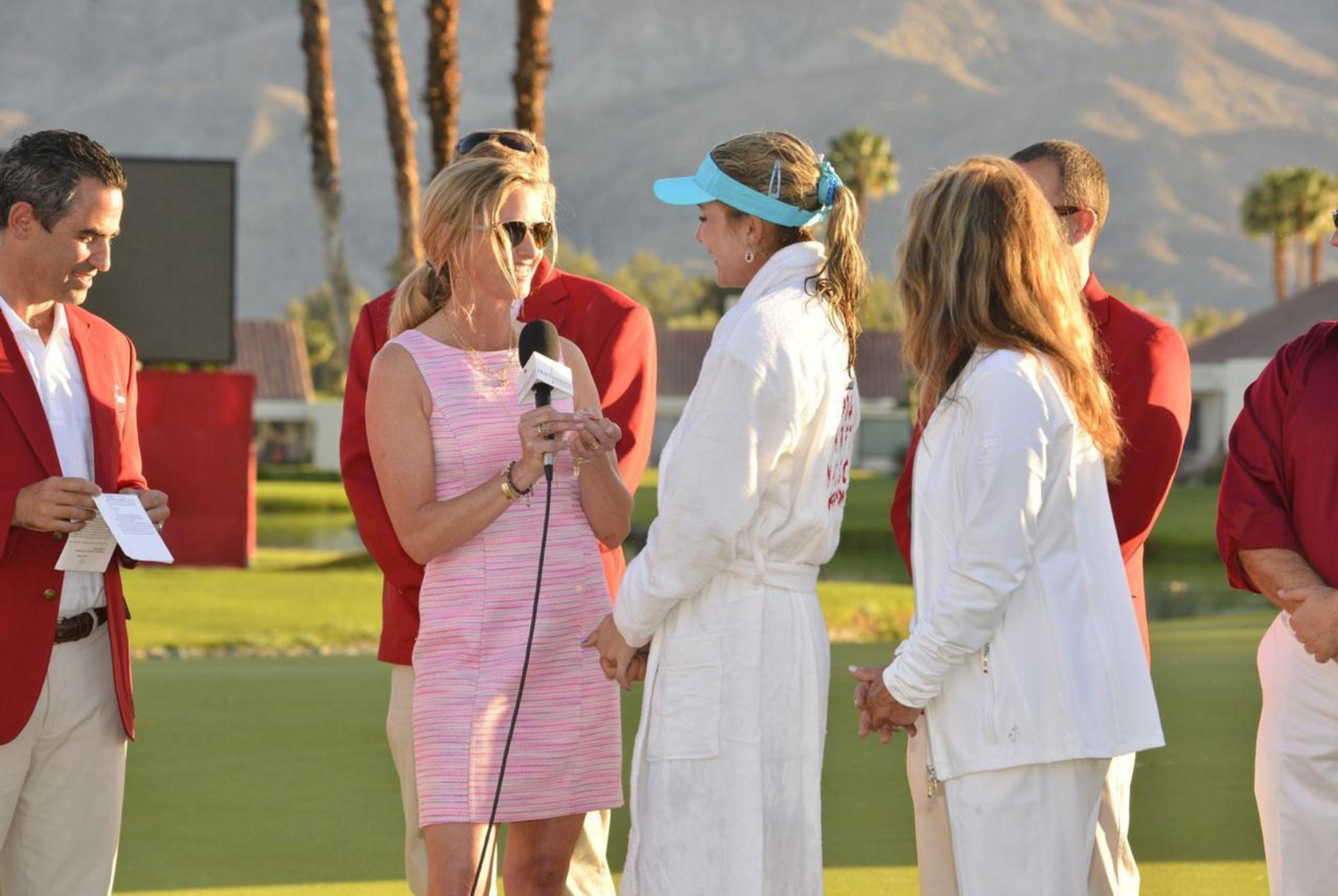 Heather Moore Jewelry Announces Kraft Nabisco Championship Sponsorship (PRNewsFoto/Heather Moore Jewelry )