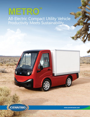 METRO All Electric Compact Utility Vehicle