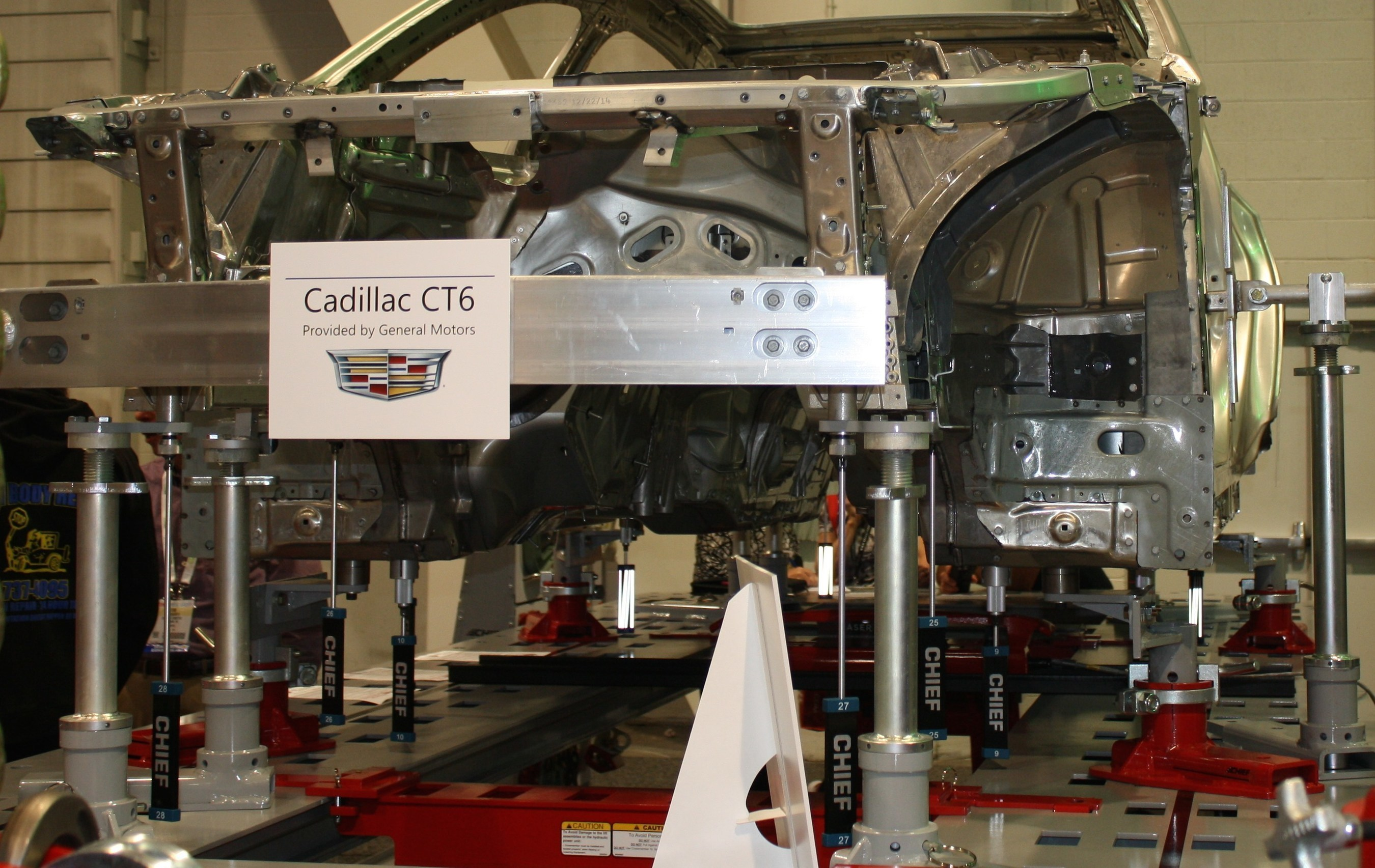 GM Approves New Chief Holding System for Repairing 2016 Cadillac CT6