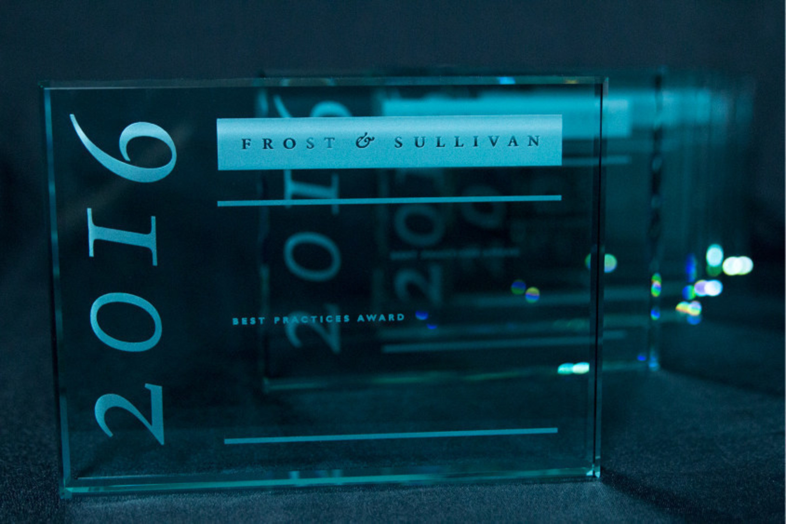 Frost & Sullivan honored recipients of its 2016 Excellence in Best Practices Awards at a gala held Wednesday, January 13, in San Diego, Calif., at the Hilton San Diego Resort & Spa.