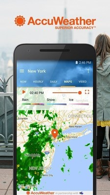 AccuWeather Universal App for Android