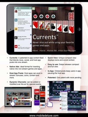 Currents In-App Service by Mobile Deluxe Is Changing the Game in How Everyone Stays Connected