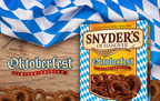Snyder's of Hanover Celebrates Tradition with Limited Edition Oktoberfest Pretzels (PRNewsFoto/Snyder's of Hanover)