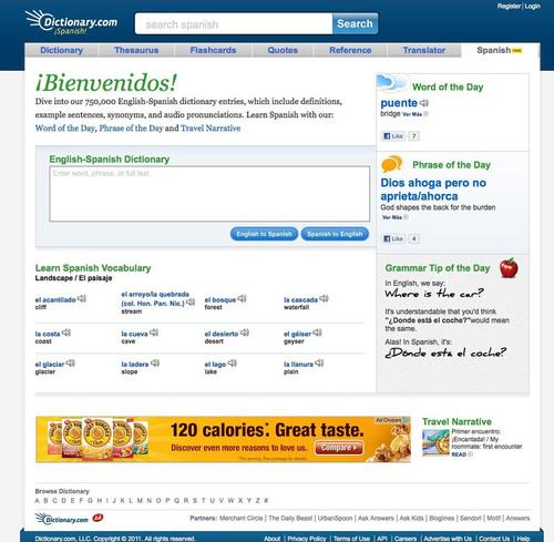 Dictionary.com Speaks to Global Generation with Dictionary.com Spanish