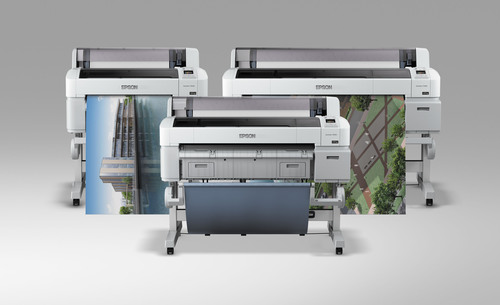 The Epson SureColor T3000, T5000 and T7000 Lead Industry with Unparalleled Precision, Performance and Value for Engineering and Scientific Communities.  (PRNewsFoto/Epson America)