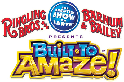 Ringling Bros. Launches a North American 90-city tour with Built To Amaze! A Circus Spectacular Extraordinarily Engineered by The Greatest Show On Earth!.  (PRNewsFoto/Feld Entertainment, Inc.)