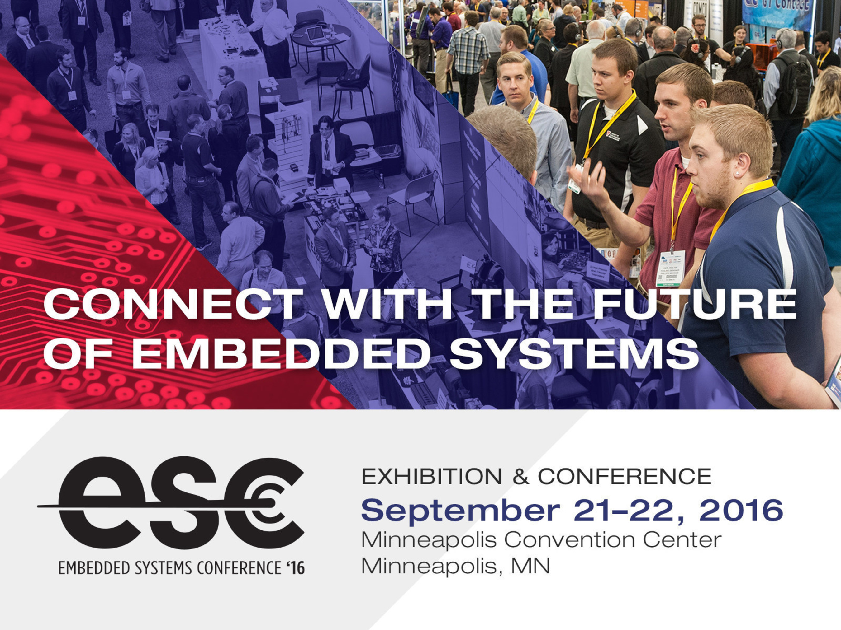 Embedded Systems Conference (ESC) Minneapolis Announces Keynote Speakers Chuck Carter, Founder of Eagre Games, and Renowned Technology Author George Leopold