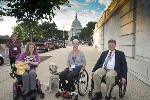 United Spinal Roll on Capitol Hill: Consumer Activists Demand Federal Health Care Policy Inclusion