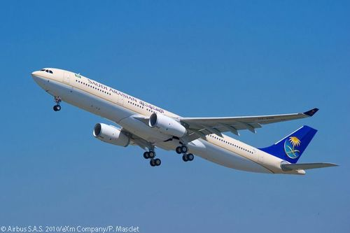 Quantum Investment Bank and Palma Capital Limited mandated for the largest Aircraft leasing deal in Saudi Arabian Airlines history. (PRNewsFoto/Quantum Investment Bank)