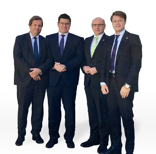 New strategic cooperation between KOSTAL and Yanfeng Automotive Interiors From left to right: Dr. Markus ...