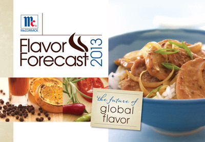 Flavor Forecast 2013 Report Cover.