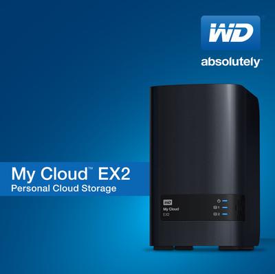 WD Introduces 2-Bay Prosumer Personal Cloud Storage.  (PRNewsFoto/Western Digital Corp.)