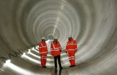 The Institution of Civil Engineers (ICE) recently awarded the Thames Water Lee Tunnel its Greatest Contribution to London Award, one of London's highest engineering awards for raising the bar on innovation, health and safety, community benefit, construction and design.