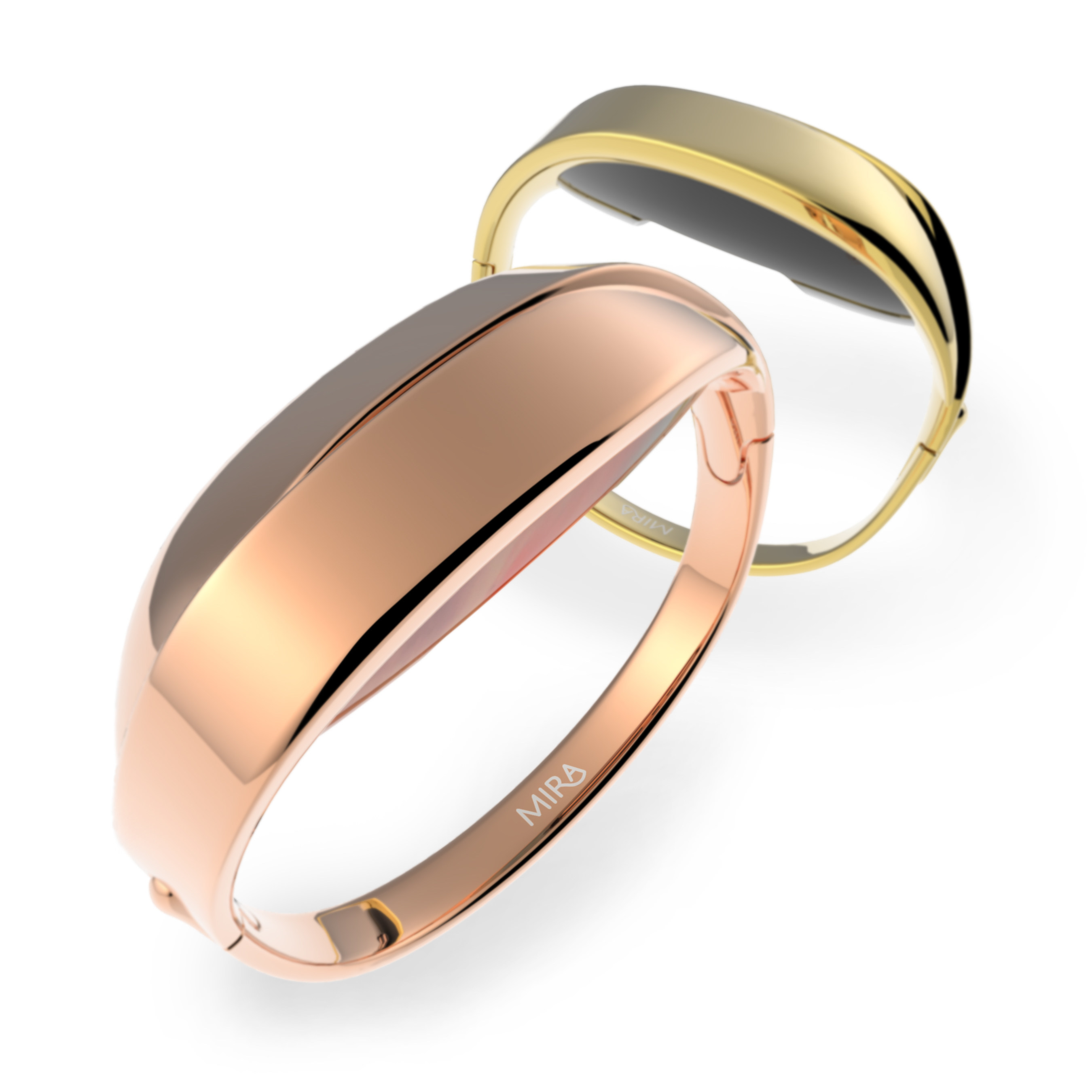 Slated to launch in 2016, the new Mira Vivid Wellness Bracelet allows for the utmost discretion. Hidden in the sleek, ribbon-inspired design, is the opal, Mira's proprietary tracker which measures steps, calories, distance and elevation. Melding style, function and covert design, the Vivid Bracelet is the perfect option for the woman who wants to keep her tracking habit private. The setting will be available in two finishes - Rose All Day and Heart of Gold.