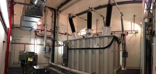New Telehouse primary power substation (PRNewsFoto/Telehouse)