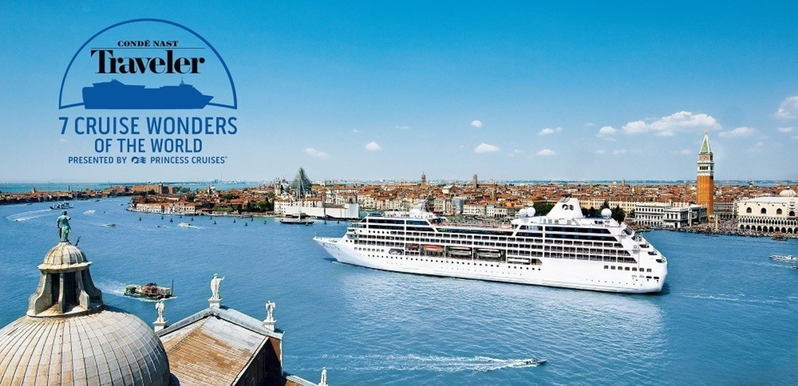 The Grand Canal of Venice has been named the 8th Cruise Wonder of the World.