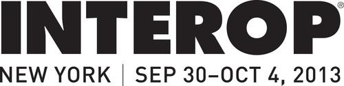 Interop New York :: Javits Convention Center :: September 30-October 4, 2013.  (PRNewsFoto/UBM Tech)