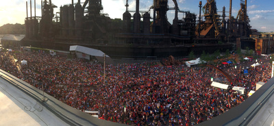 Thousands Celebrate World Cup at SteelStacks in Bethlehem, Pa
