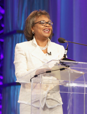 Civil and women's rights pioneer Anita Hill speaks to a sold-out crowd at the 13th Annual Pennsylvania Conference for Women on Thursday, October 6th, 2016 at the Pennsylvania Convention Center.