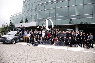 24-hour hackathon with Mercedes-Benz in Silicon Valley