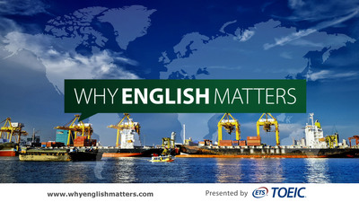 TOEIC® Program Launches New 'Why English Matters' Website