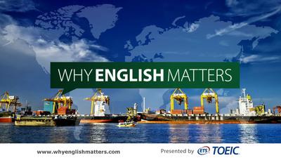 Introducing Why English Matters. (PRNewsFoto/ETS) (PRNewsFoto/ETS)