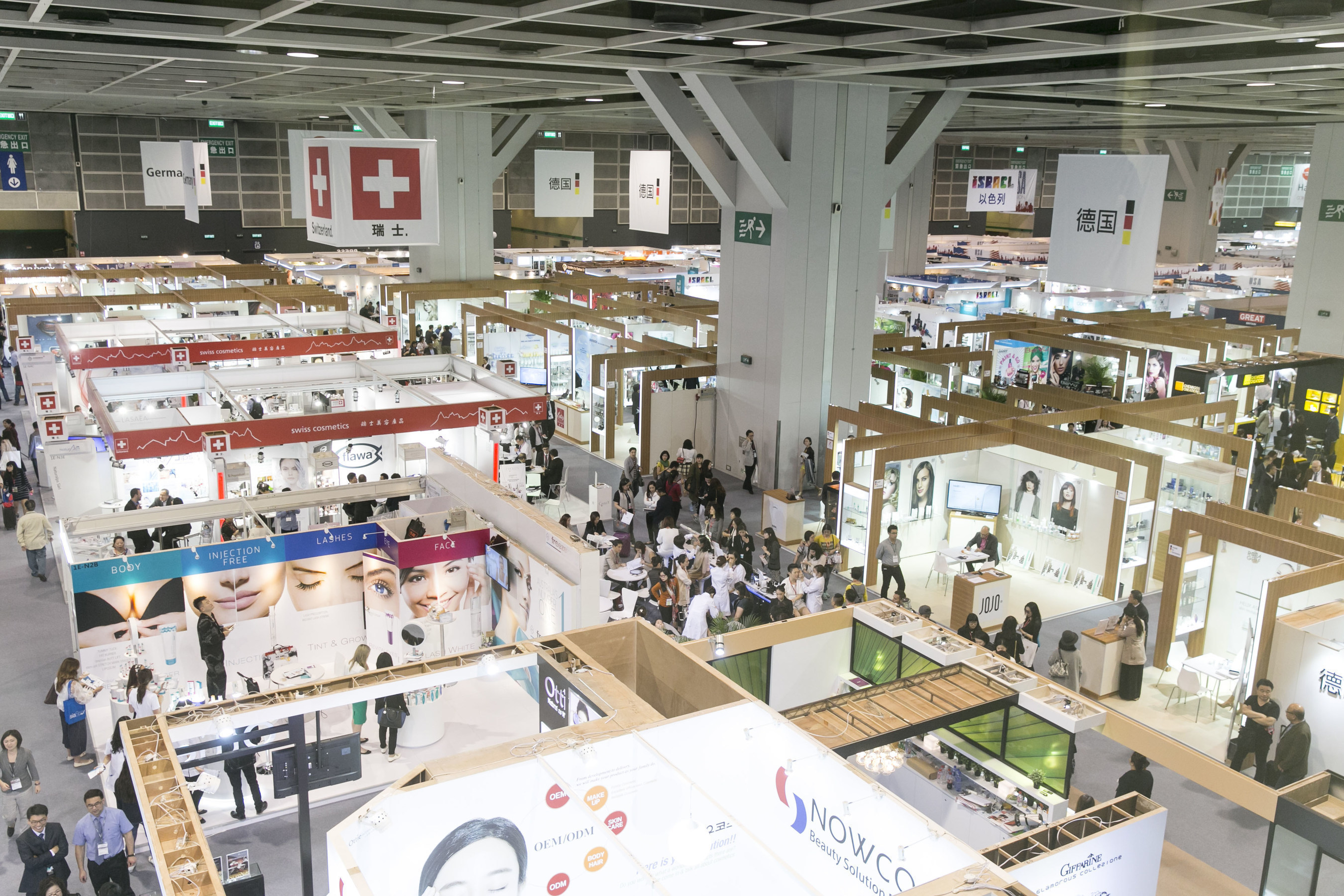 Cosmoprof Asia 2016 will be held across two fair venues: the Hong Kong Convention & Exhibition Centre and the ...