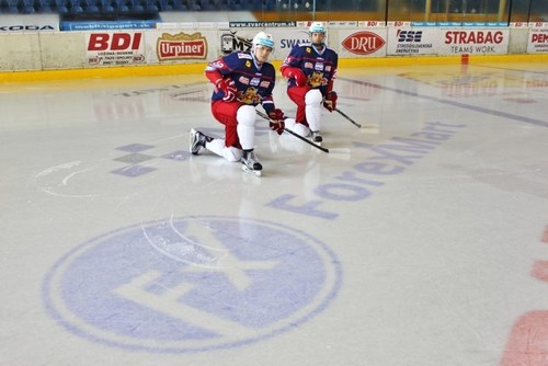HKM Zvolen players at new partner's presentation (PRNewsFoto/ForexMart)