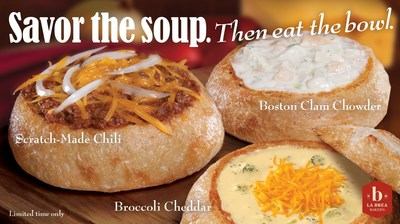 Bread Bowls are back at Farmer Boys!