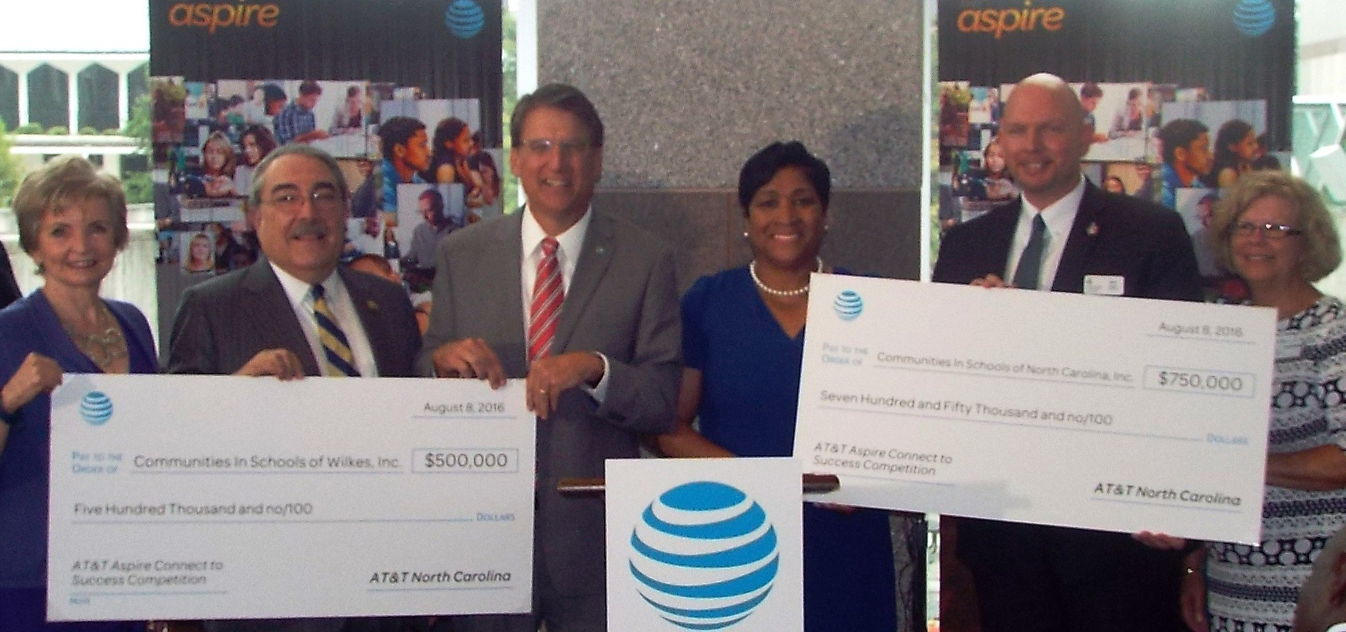 Communities In Schools to Help Students in their Quest to Graduate with $1.25 Million from AT&T