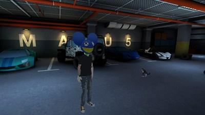 Absolut deadmau5 Garage Scene