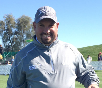 Dynacast International sponsored PGA Tour golfer, Brendon de Jonge