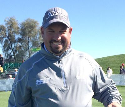 Dynacast International sponsored PGA Tour golfer, Brendon de Jonge
