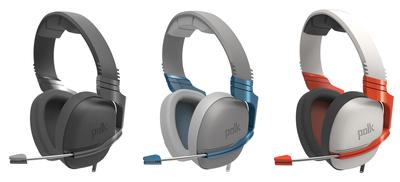 Polk Debuts Striker Headset at E3 (PRNewsFoto/Polk)