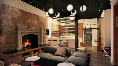 Hotel Zeppelin, set to open this spring in San Francisco's iconic Union Square.