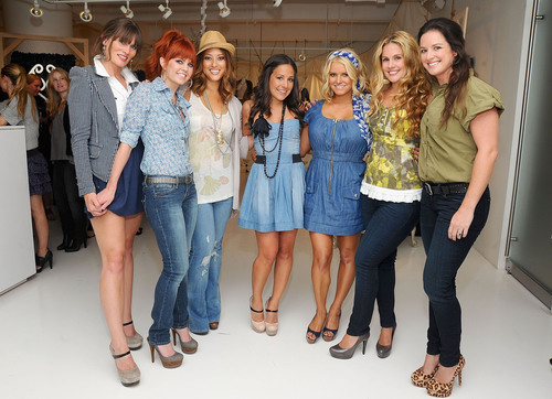 Jessica and her best friends dressed head-to-toe in Jessica Simpson Collection.  (PRNewsFoto/Jessica Simpson ...