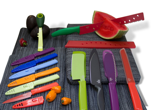 There's a Knife For That: Trends in Colorful Specialty Knives From Kuhn Rikon