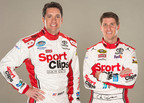 Elliott Sadler to Drive No. 11 Sport Clips Toyota in Seven Nationwide Series Races, and Denny Hamlin to Drive No. 11 Sport Clips Toyota in Two Sprint Cup Series Races.  (PRNewsFoto/Sport Clips Haircuts)
